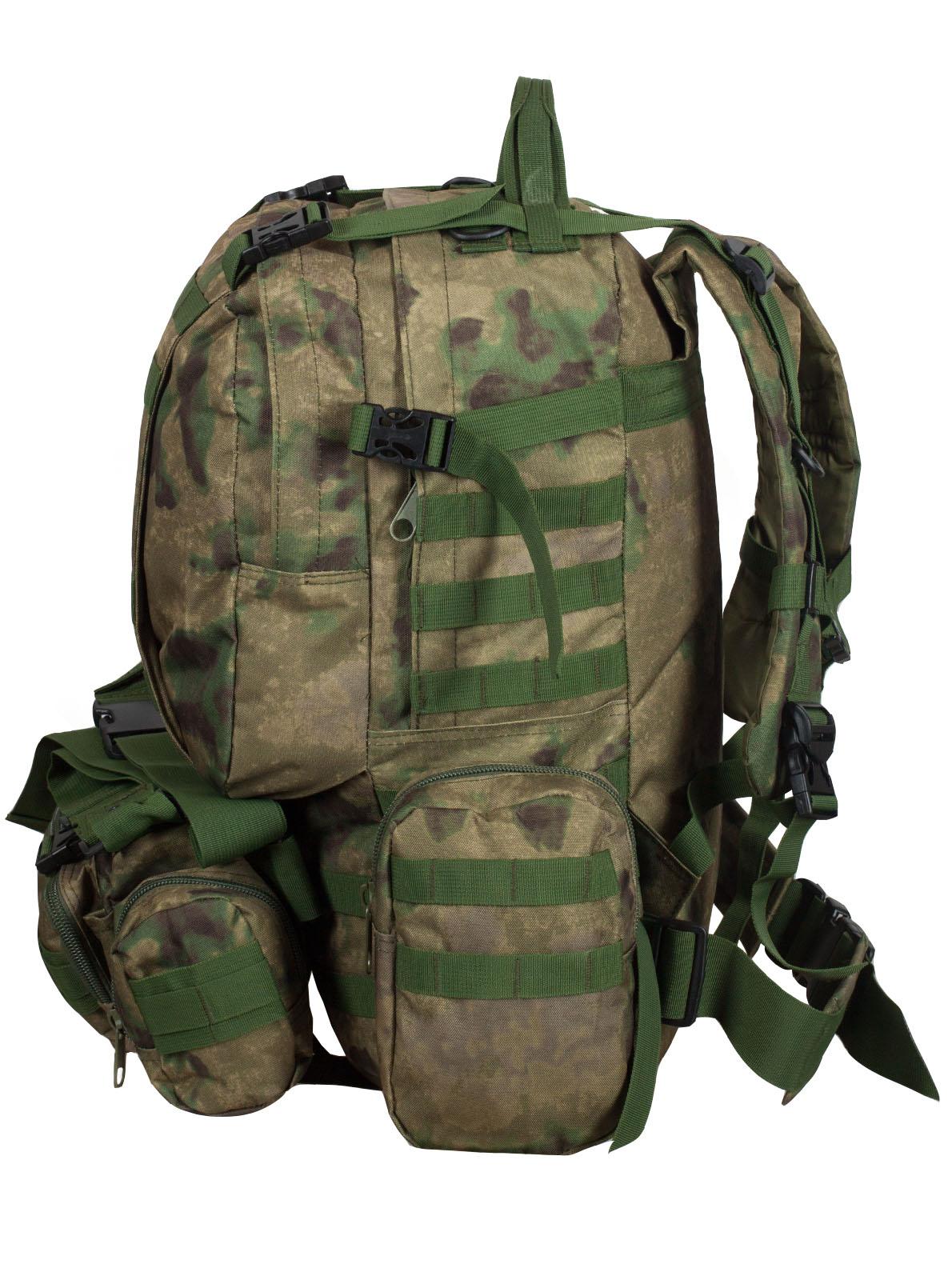 Военный вместительный рюкзак-трансформер с нашивкой Танковые Войска - заказать с доставкой
