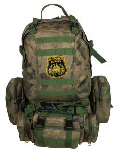 Военный вместительный рюкзак-трансформер с нашивкой Танковые Войска - заказать выгодно