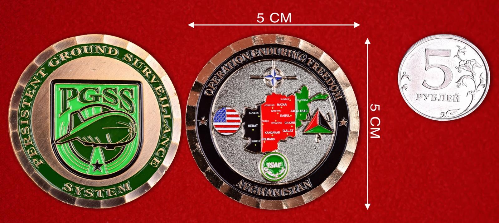 """Военный знак НАТО """"Аэростатный дозорный комплекс"""""""