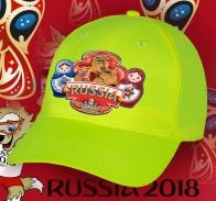 Для патриотов и друзей - яркая крутая бейсболка с принтом «Russia» Медведь с балалайкой и Матрешки от наших дизайнеров по самой низкой цене