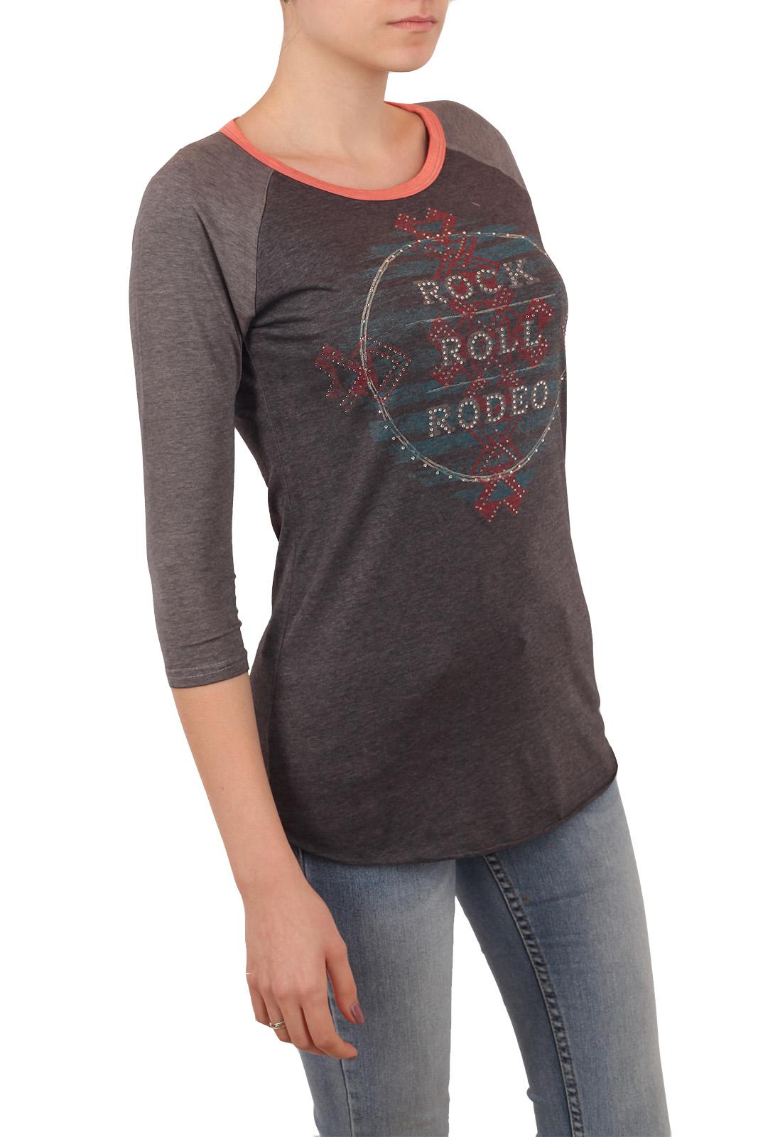 Волшебный женский реглан от бренда Rock and Roll Cowgirl! Правильный дизайн широкую талию сузит, а тонкую – подчеркнет!