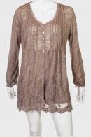 Воздушное полупрозрачное платье от Cassis collection