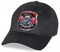 Всем разведчикам действующим и отставникам великолепный подарок авторского дизайна от Военпро – черно-серая бейсболка с принтом «Выше нас только звезды»