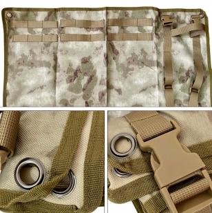 Всепогодный компактный коврик для тренировочной стрельбы (HDT Camo FG)