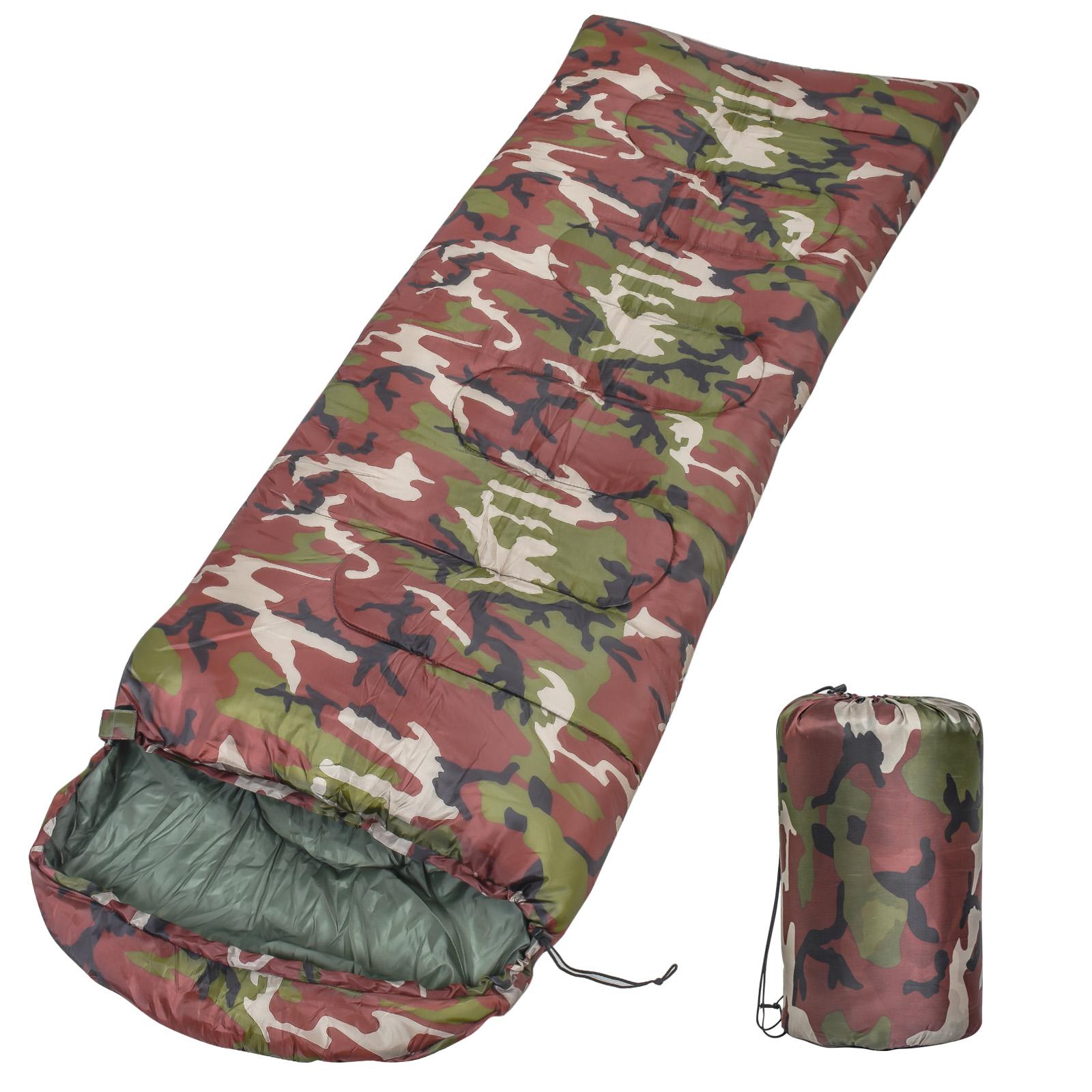 Всесезонный военный и туристический спальный мешок 1.8 кг