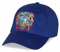 Вы уже купили подарок друзьям и близким к 9 Мая? Тогда к нам, купить синюю хлопковую бейсболку с орденской символикой. Покупай выгодно только в Военпро!
