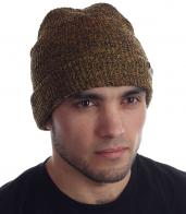 Вязаная мужская шапочка