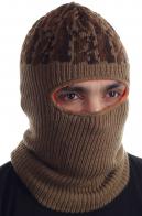 Вязаная шапка-балаклава
