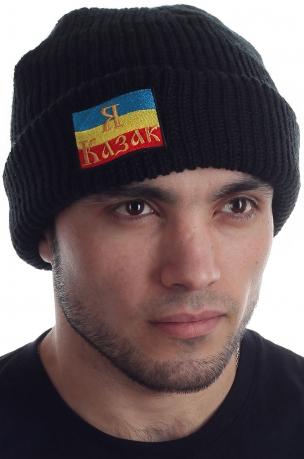 Вязаная шапка Донского казака