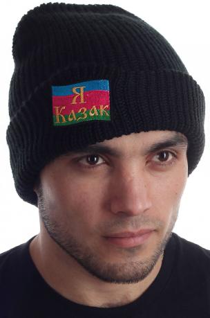 Вязаная шапка Кубанского казака