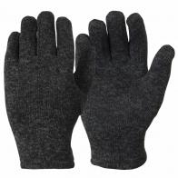 Вязаные мужские перчатки
