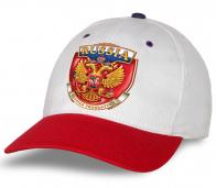 """Выбирай проверенное! Самая актуальная бейсболка """"Russia"""" высшего качества. Яркая, эффектная модель. Заказывай и будь в числе лучших!"""