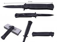 Выкидной нож SOG Flash Tanto Black