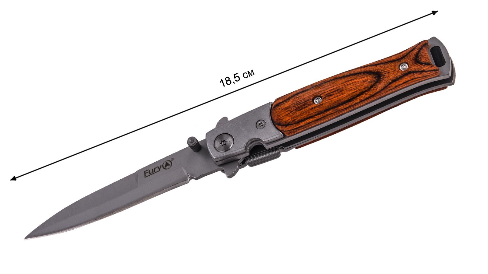 Выкидной стилет Fury Knives Equator Dagger 10383 (США) - длина