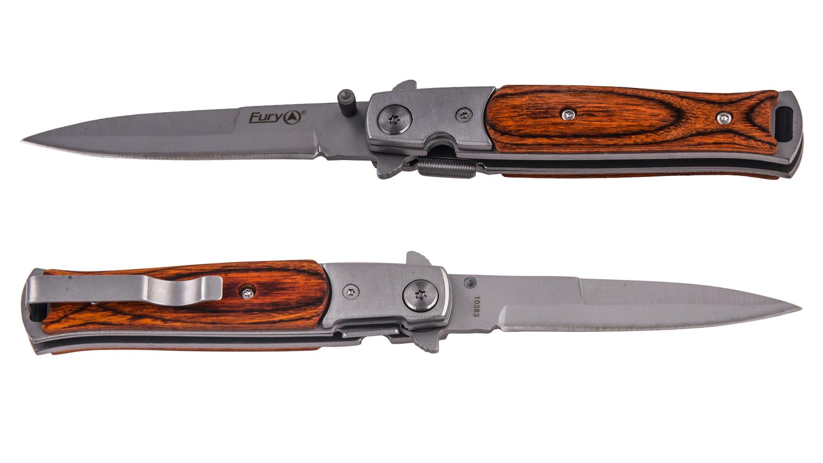 Выкидной стилет Fury Knives Equator Dagger 10383 (США) по выгодной цене