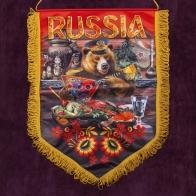 """Вымпел патриота """"Russia"""" - купить в подарок"""