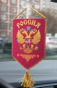 """Вымпел сувенирный """"Россия"""" на присоске по выгодной цене"""