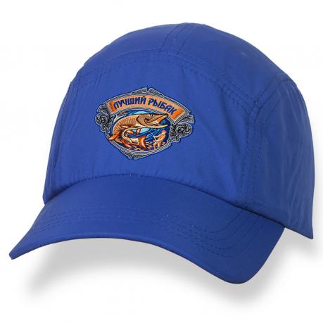 Вышитая кепка-бейсболка для лучшего рыбака.
