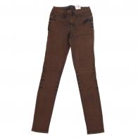 Тренд! Женские высокие джинсы узкачи.