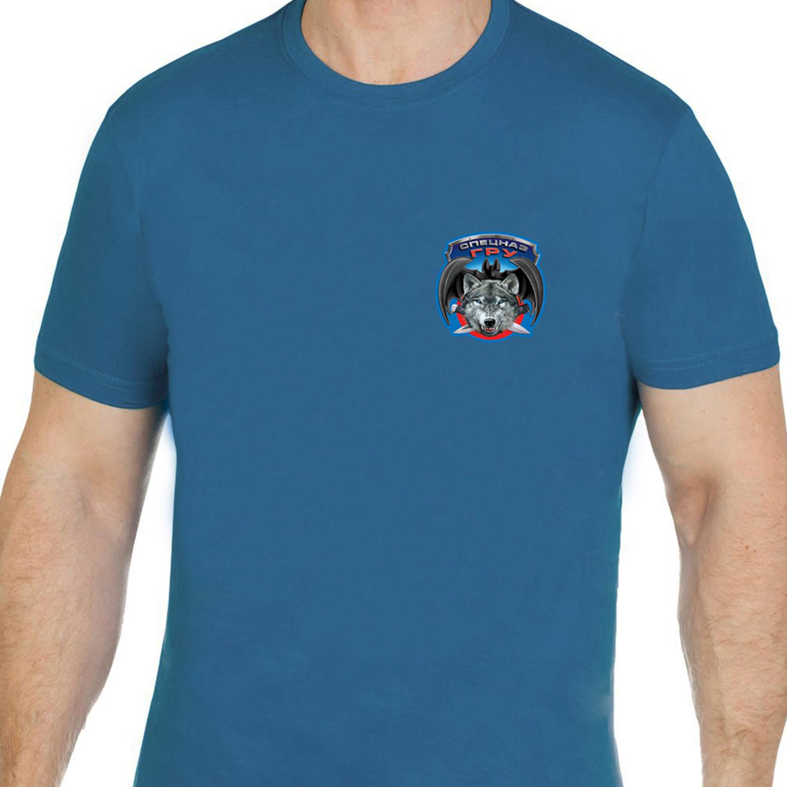 Высококачественная футболка Спецназ ГРУ