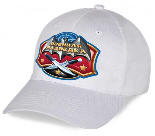 Высококачественная кепка с дизайнерским принтом Военная разведка новомодной модели. Спешите купить популярный головной убор к праздничной дате!