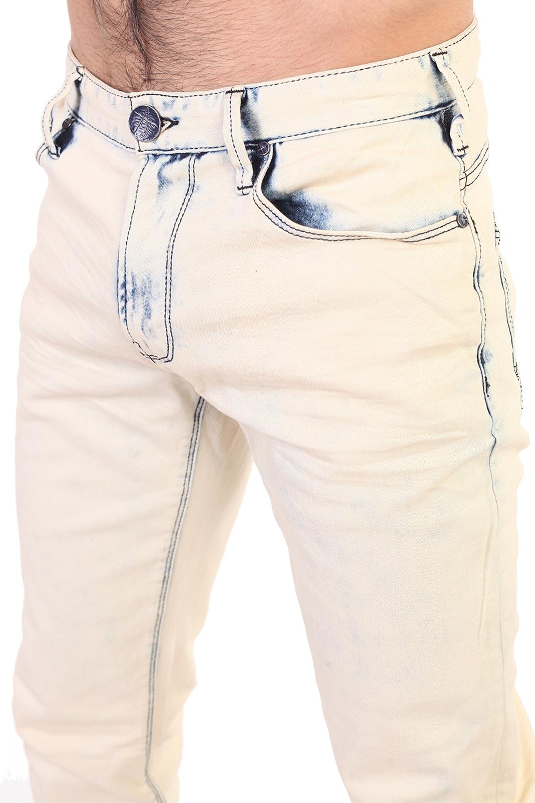 Вываренные летние мужские джинсы