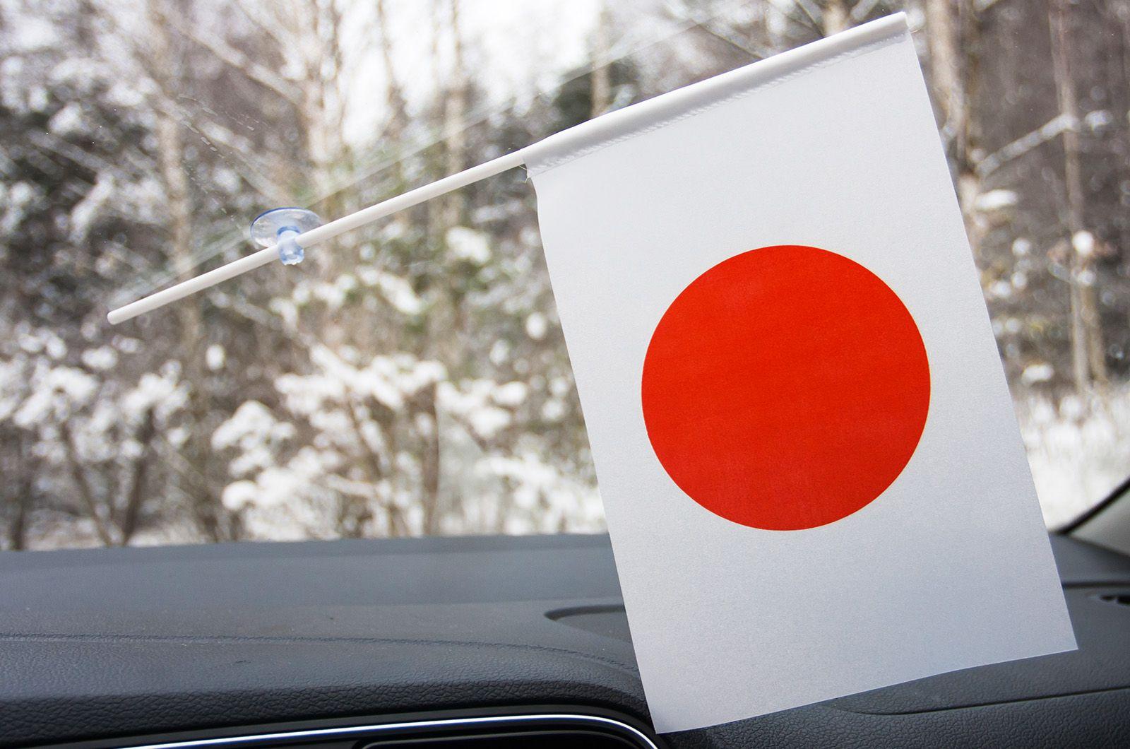 Японский флажок с присоской