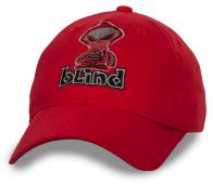 Яркая бейсболка с прикольной картинкой Blind - для всех, кто на позитиве