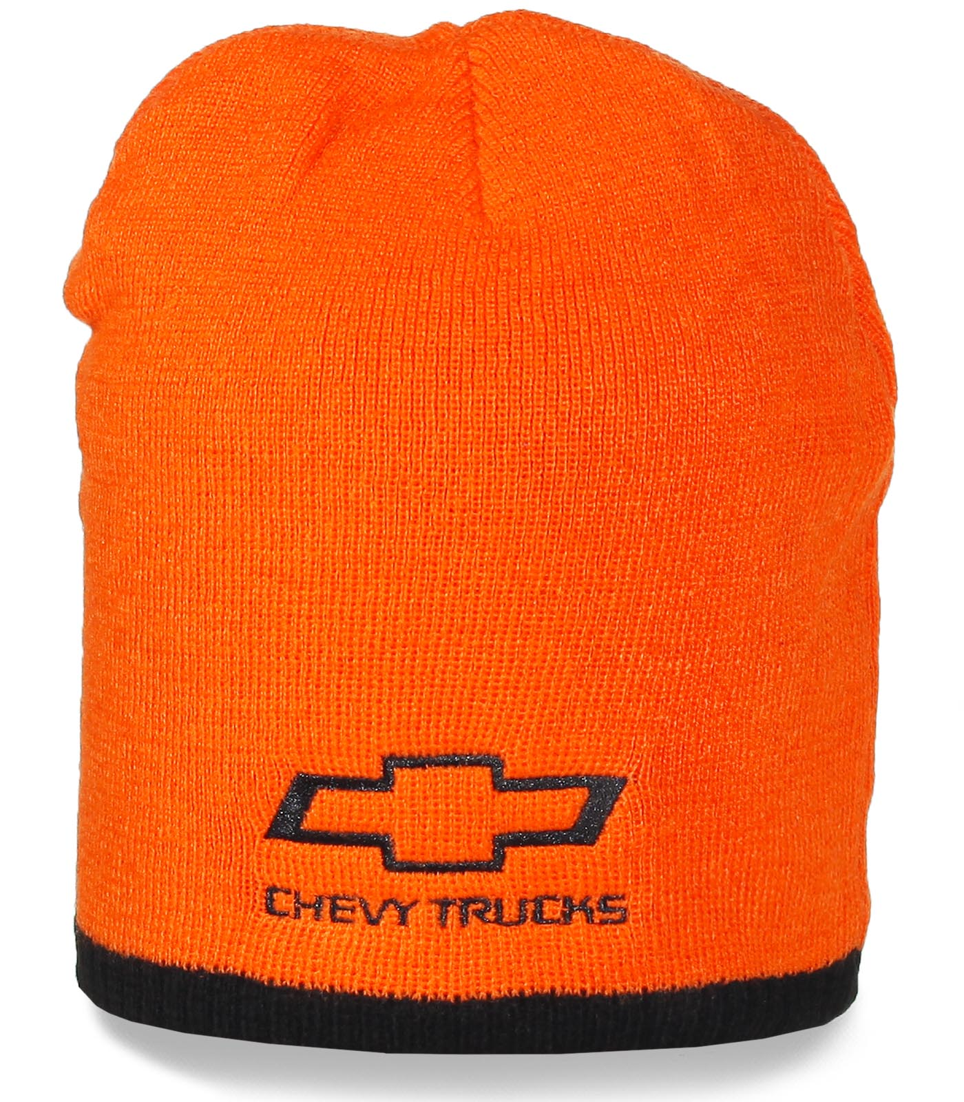 Яркая брендовая шапка с надписью Chevy Trucks