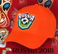 Яркая фанатска бейсболка Russia 2018
