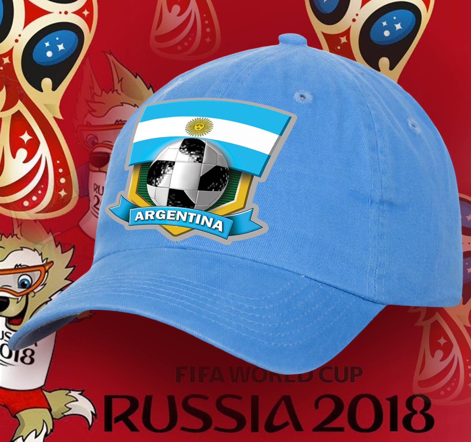 Яркая кепка Аргентина
