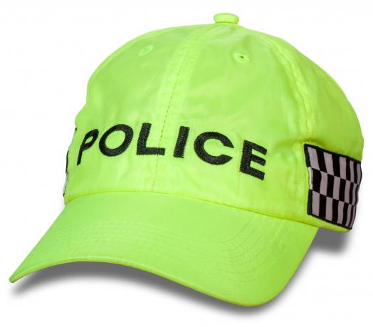 Яркая кепка POLICE