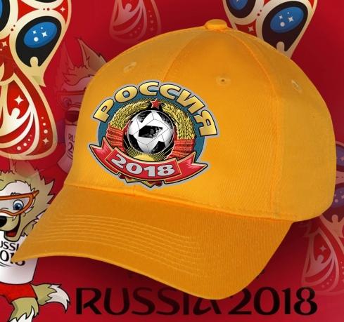Яркая кепка Россия