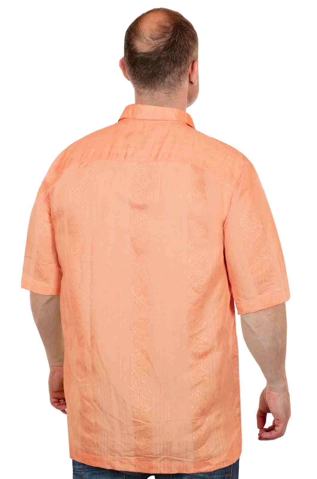 Яркая летняя рубашка от американского бренда Caribbean Joe-сзади