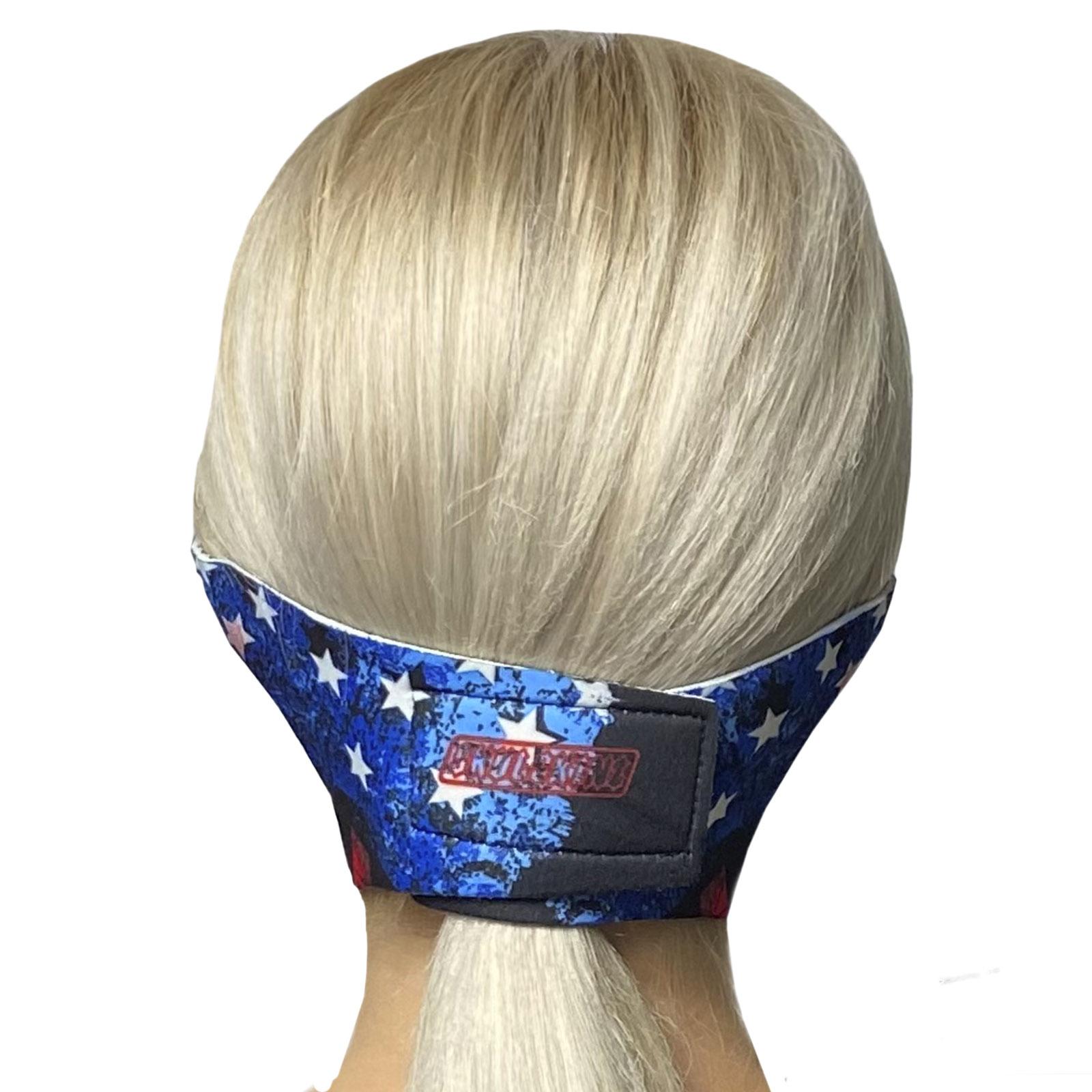 Яркая медицинская антивирусная маска с молодежным принтом Skulskinz Peacemaker