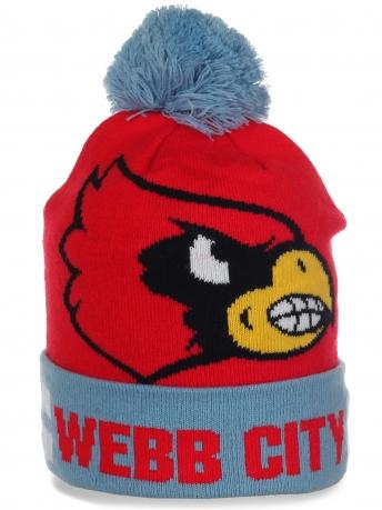 Яркая оригинальная шапочка Webb City