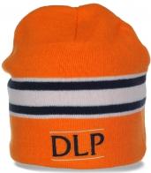 Яркая шапка DLP на флисе для спортивных девушек. Выделяйся!