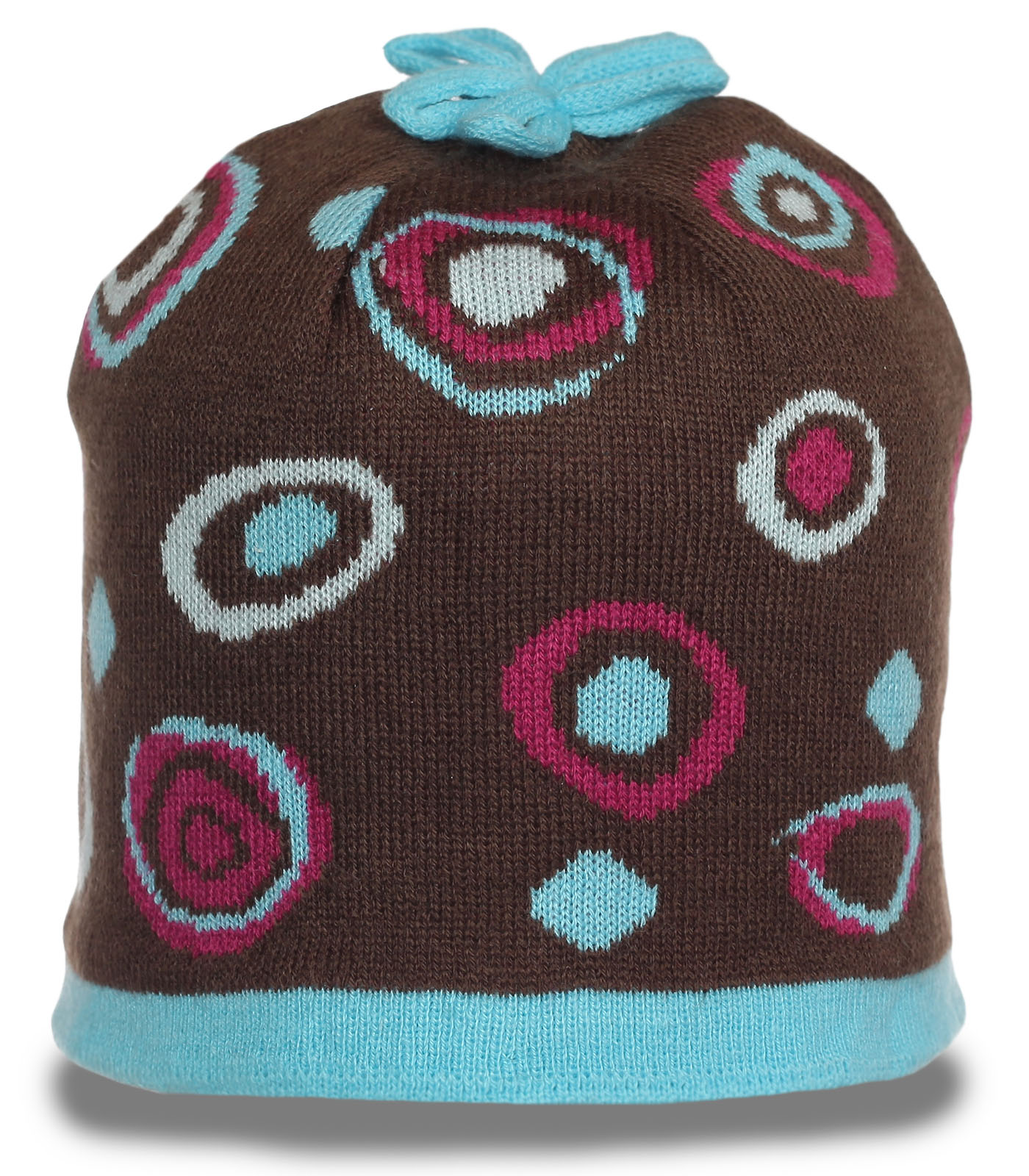 Яркая шапка для модных девушек. Модель на флисе. Заказывай и будь самой классной и стильной!