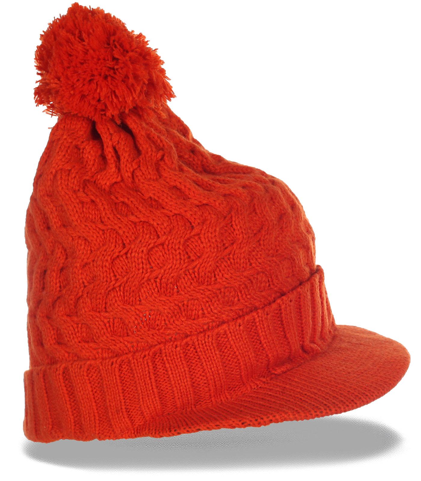 Яркая шапка-кепка для эффектных девушек. Заказывай и будь в центре внимания!