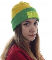 Яркая шапка Obey для модных девушек