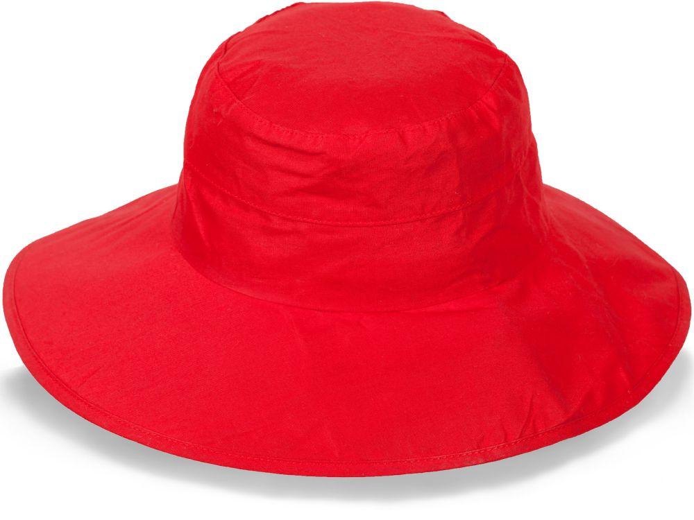Яркая шляпа для лета