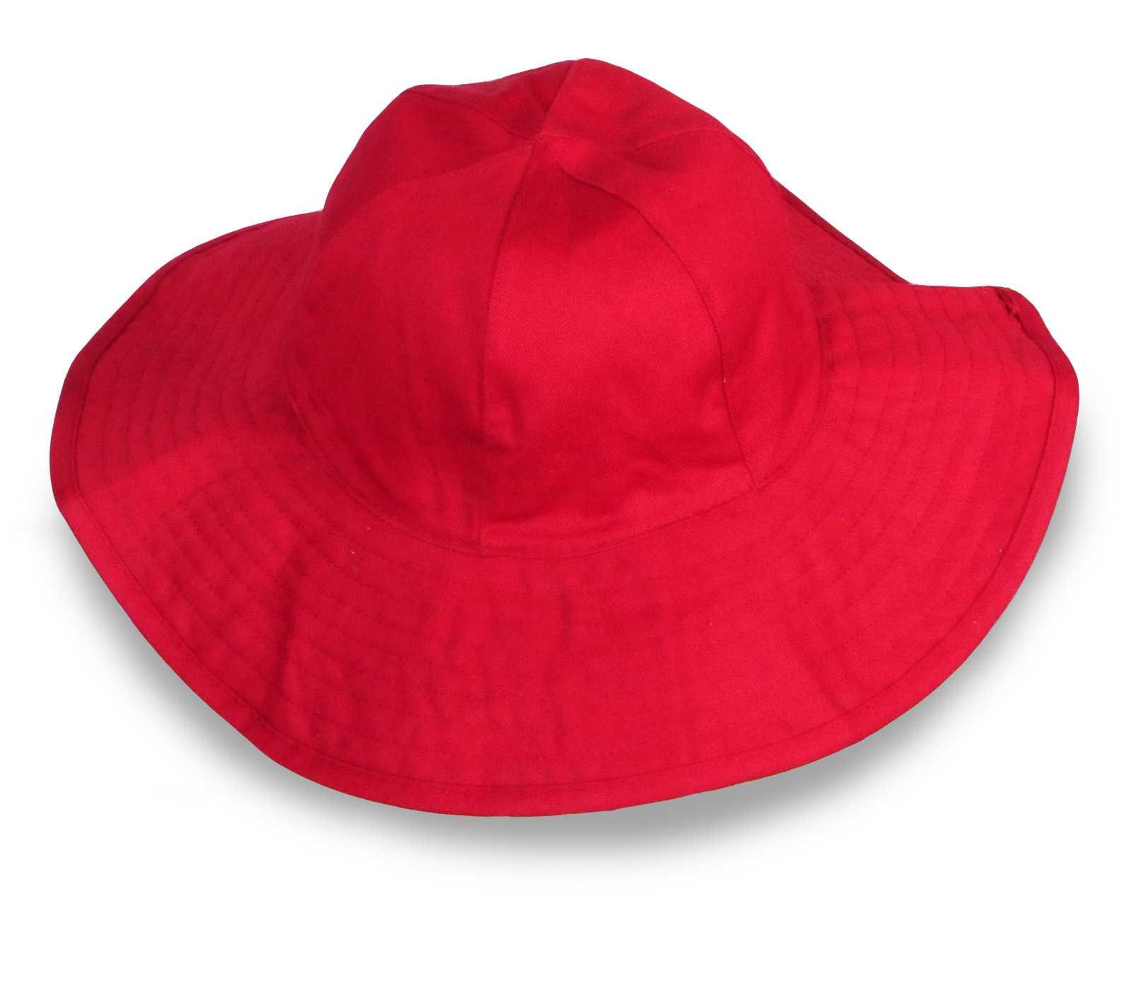Яркая шляпа для отпуска у моря