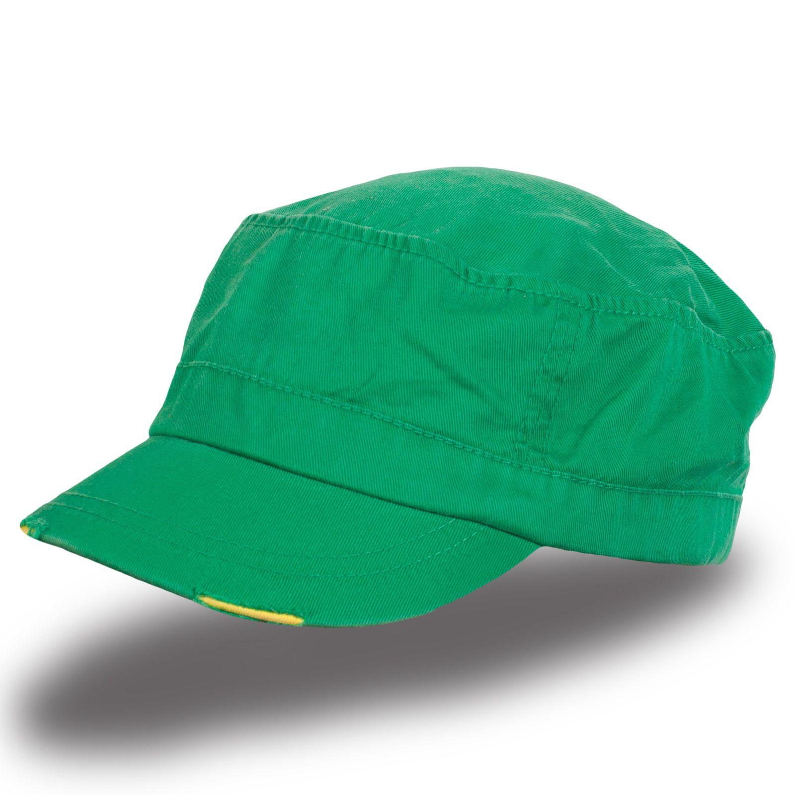 Яркая зеленая кепка - купить в интернет-магазине с доставкой