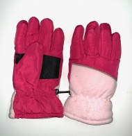 Яркие детские перчатки для зимы