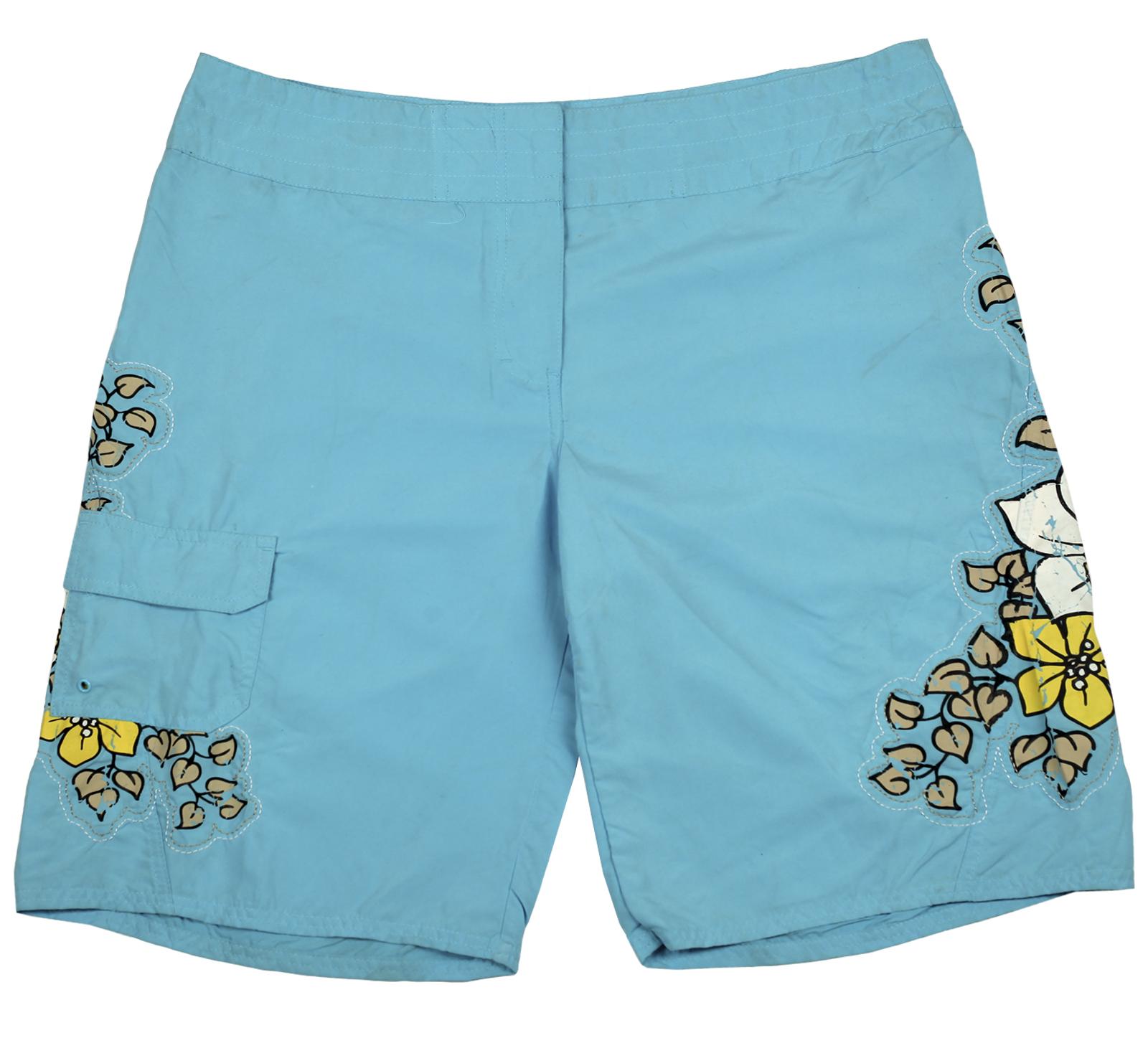Яркие голубые шорты West Coast