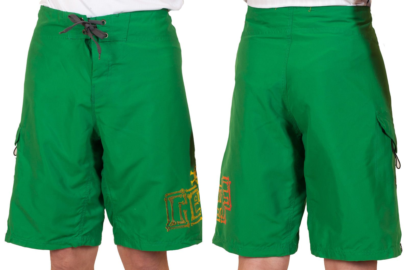 Яркие шорты Reef для подростков - общий вид
