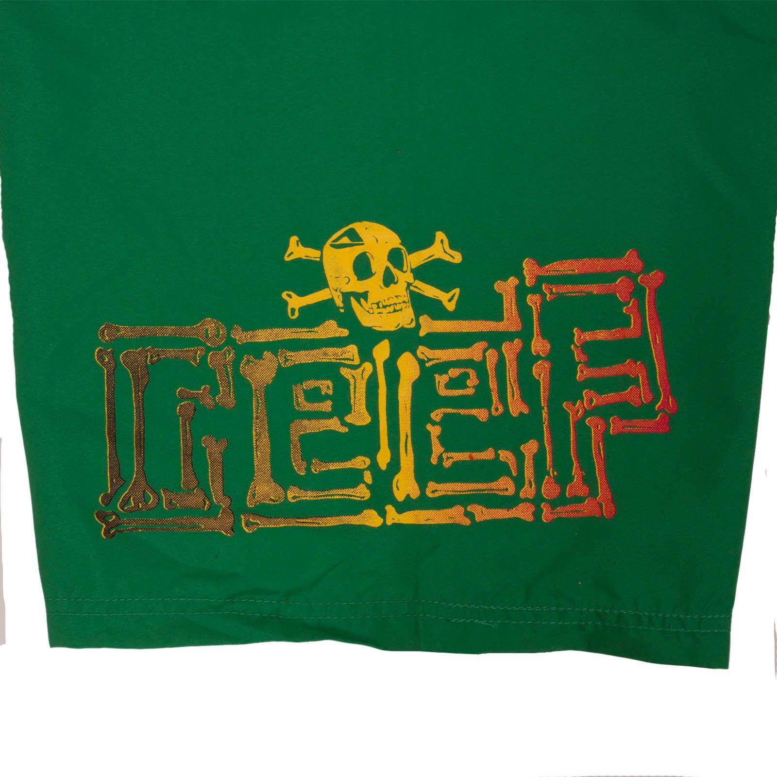Яркие шорты Reef для подростков - принт