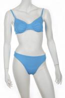 Яркий голубой купальник Olympia.