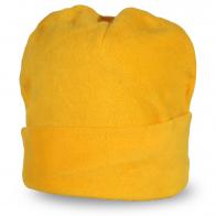 Ярко-желтая шапка