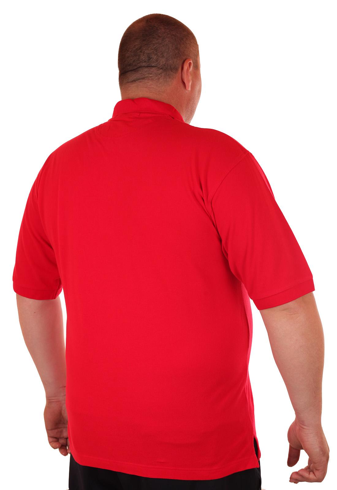 Заказать яркое красочное поло больших размеров (батал) от Port Authority (США)